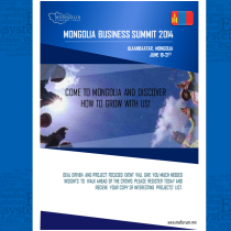 Mongolia Business Summit 2014